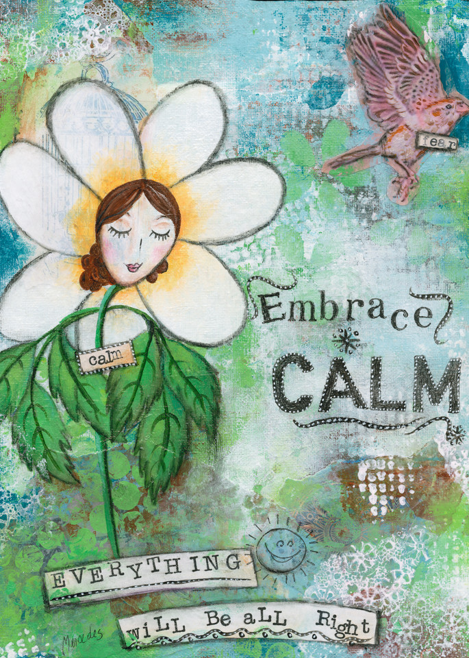 Embrace Calm   Prints Art   Mercedes Fine Art
