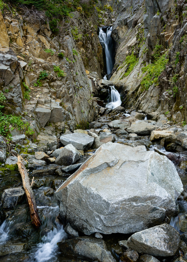 Edith Gorge Falls, Mt. Rainier National Park, Washington, 2020