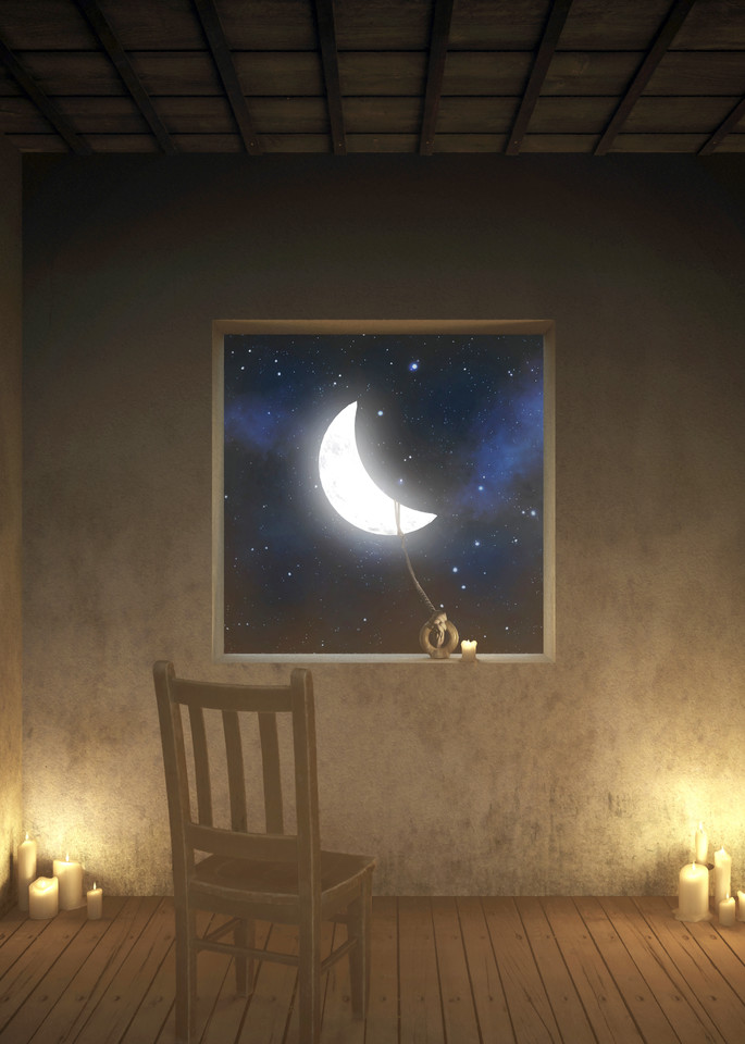 Room With a View Night | Cynthia Decker