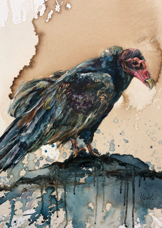 Vulture Art | Christy! Studios