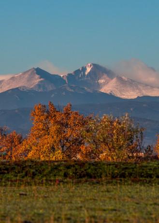Photograph of Longs Peak Colorado Fine Art