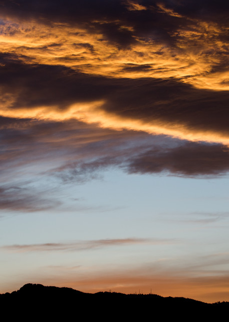 Wall Art of Horsetooth In Fort Collins Colordo During Sunset