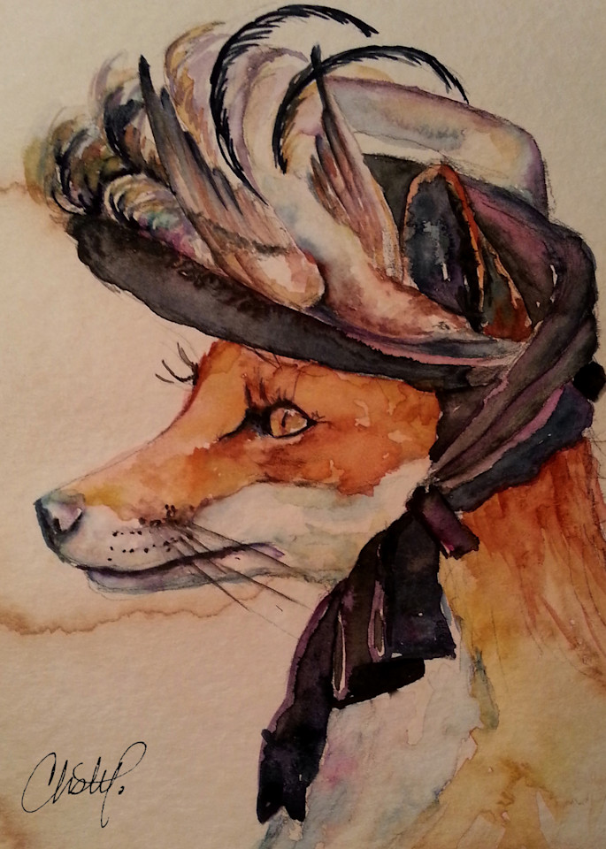 Francine Fox Fancy Steampunk Lady Art | Christy! Studios