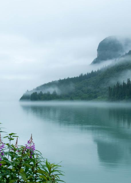 Fog Over Lake Chilkoot Photography Art | Greg Starnes Phtography
