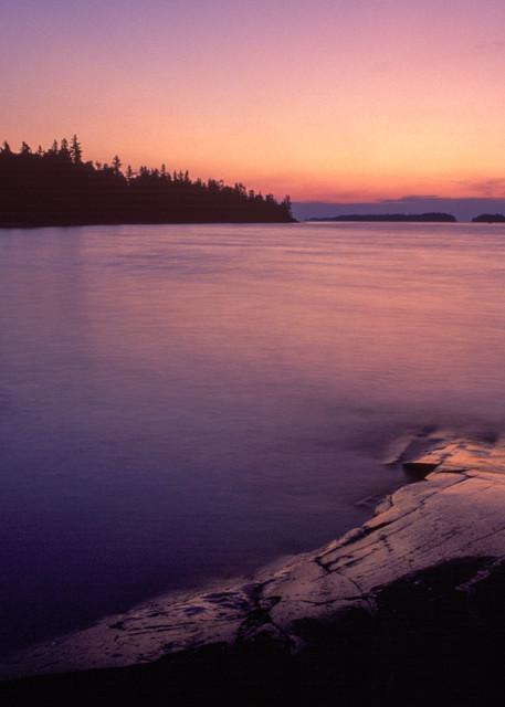 Superior Sunrise, Isle Royale National Park, Michigan.