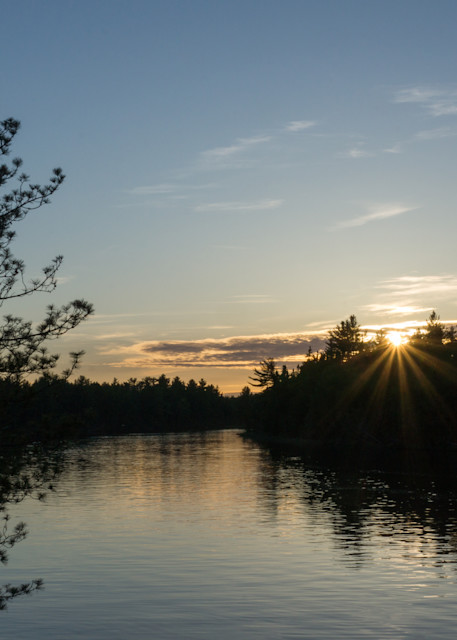 Tahquamenon River Sunset