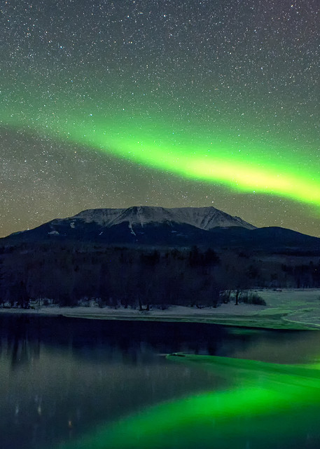Aurora Borealis Mt Katahdin
