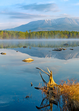 Katahdin from Pockwockamus Pond