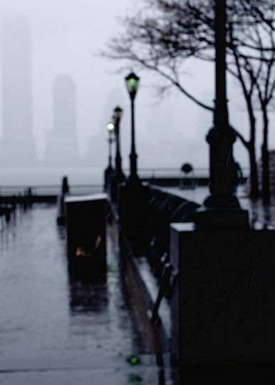 Aliens In The Fog Ii Photography Art | LenaDi Photography LLC