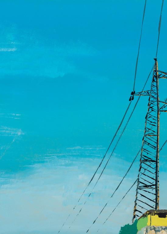 Southern Skies Pylon Art | Emma Frost