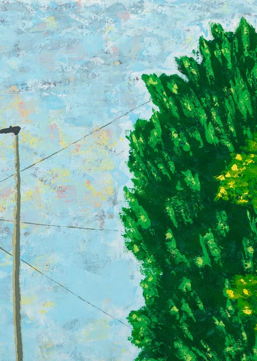 Telegraph Lines Art   Emma Frost