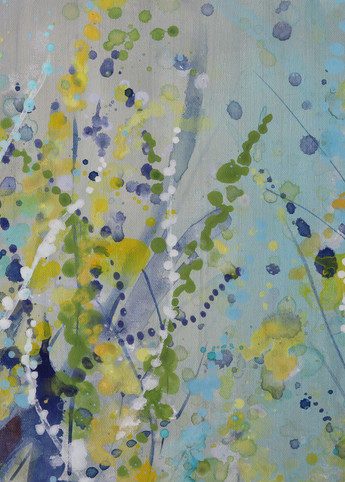 Blue Sea Splash Art   Savy Jane Studios