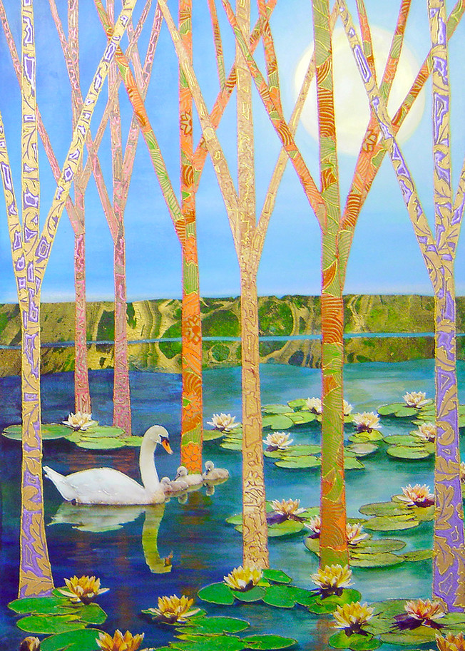 Swan Lake  Art | Channe Felton Fine Art