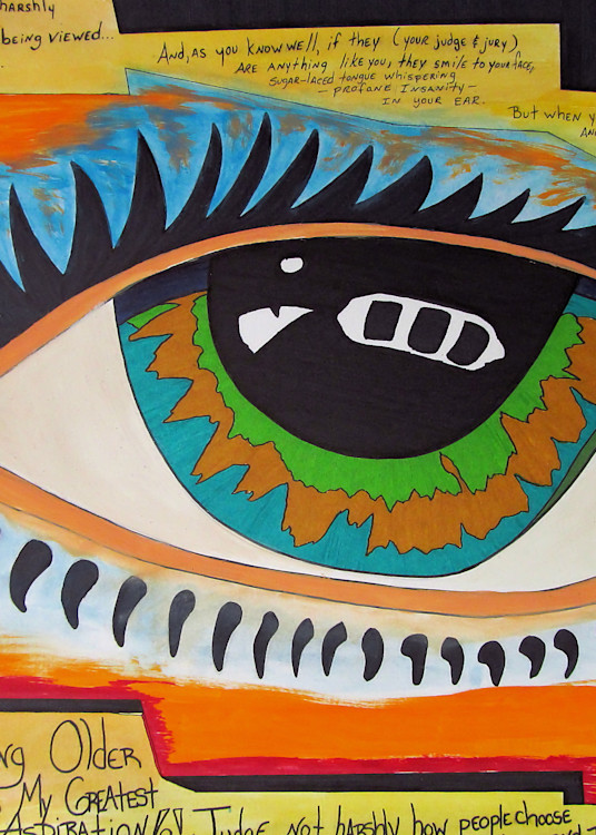 Judge Not Harshly Art | Lillith