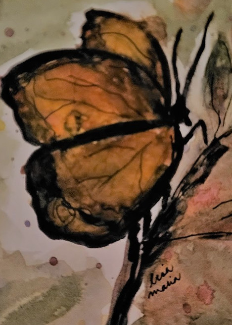 Amber Butterfly