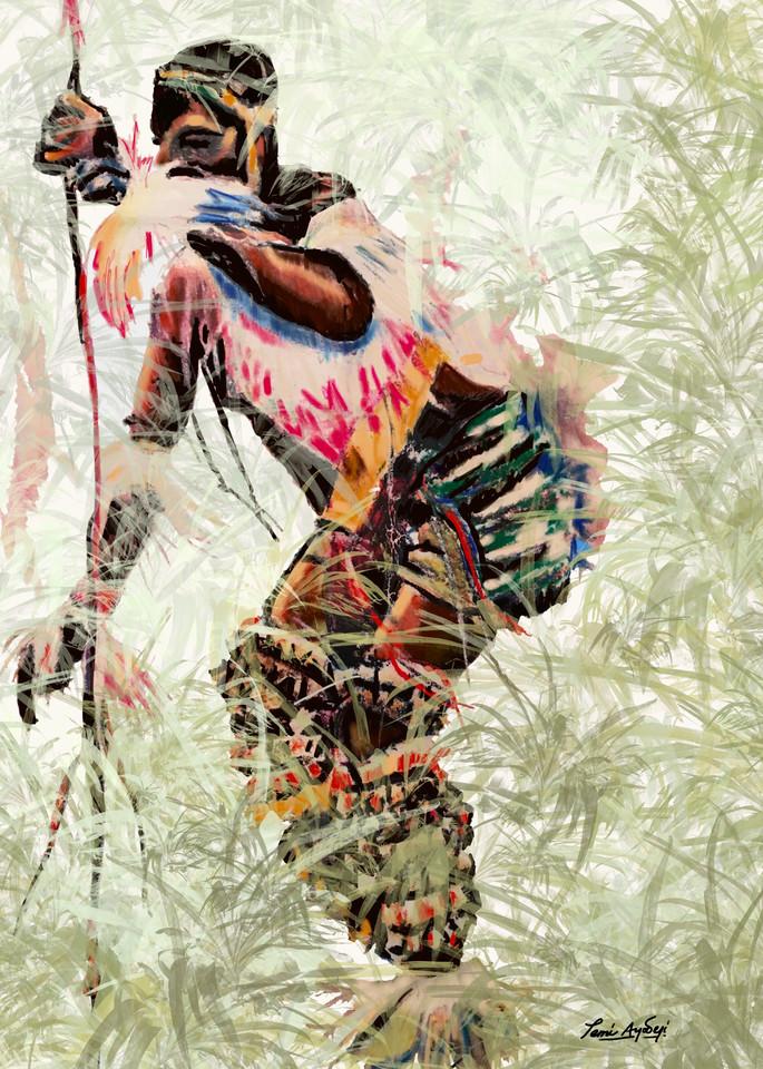 Eastern Dancer Art   TEMI ART, LLC.