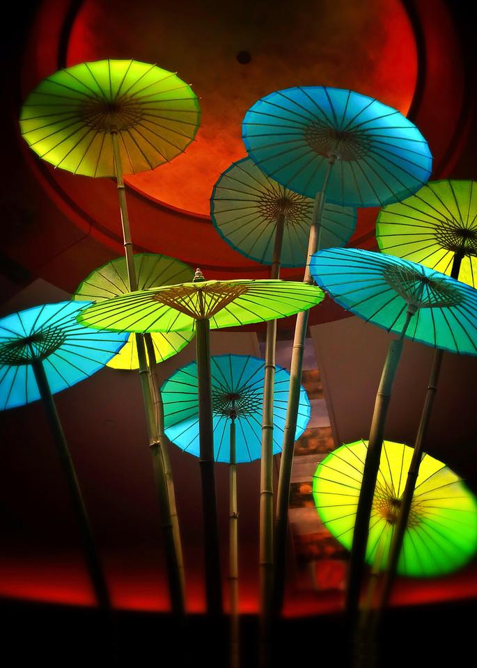 Mandarin Umbrellas Photography Art | Mark Stall IMAGES