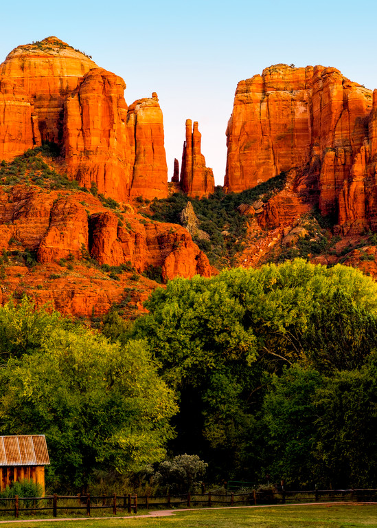 Cathedral Rock And Barn Photography Art   Casey Chinn Photography LLC