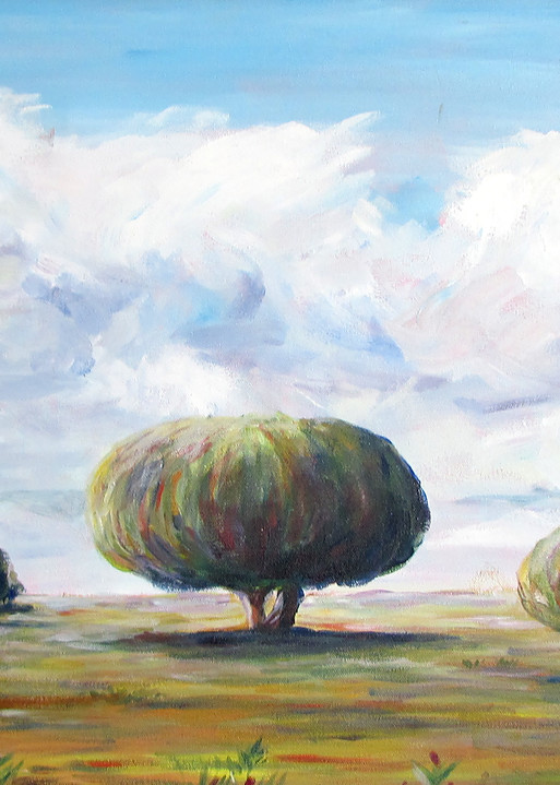 On The Plains Of Spain Art   Linda Sacketti
