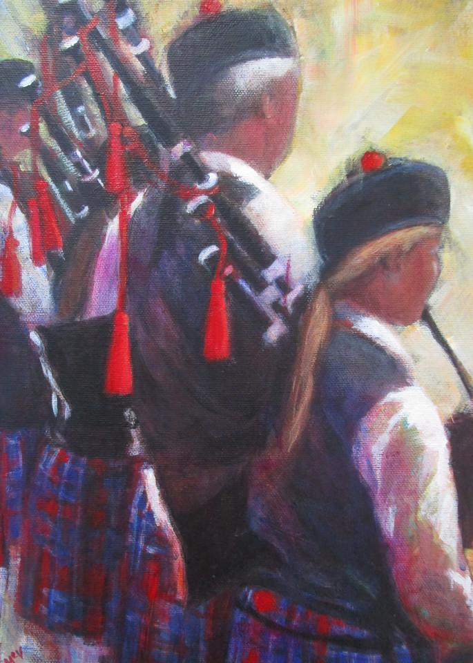 Sounds Like Summer Art | Lesley McVicar Art