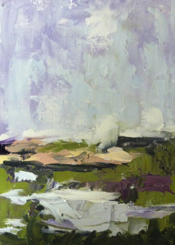 Gray Morning, Castle Hill Giclée Print Art | Dawn Boyer Fine Art