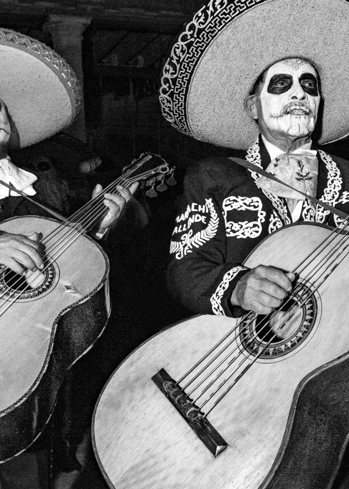 Los Mariachis Muertos Photography Art | Harry John Kerker Photo Artist