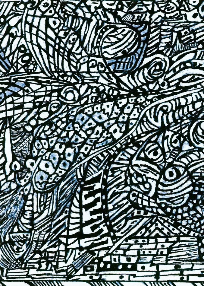 Blues Scale Series #2 Art   Aldo Borromei
