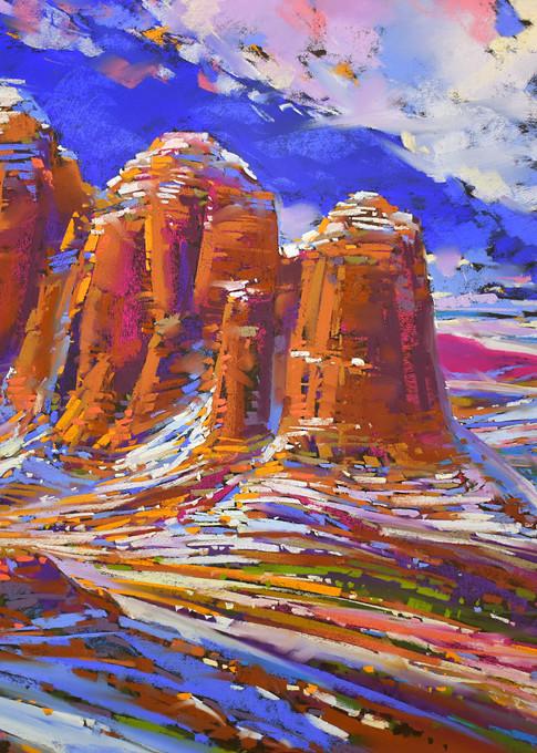 Snow On Coffee Pot #4 Art   Michael Mckee Gallery Inc.