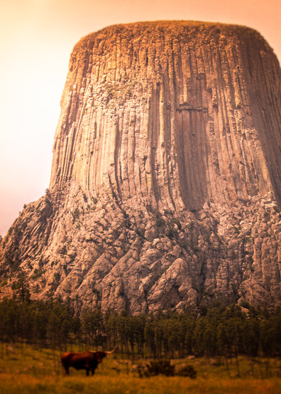Devils Tower Photography Art | Harry John Kerker Photo Artist