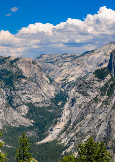 Yosemite's Half Dome from Glacier Point