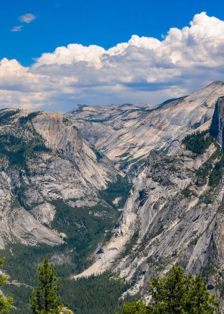 Yosemite's Half Dome from Glacier Point
