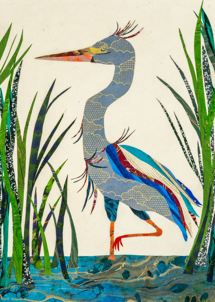 Blue Heron Art   capeanngiclee
