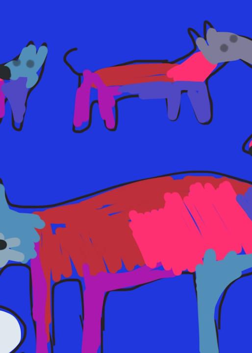 Drinker Blue Art | stephengerstman