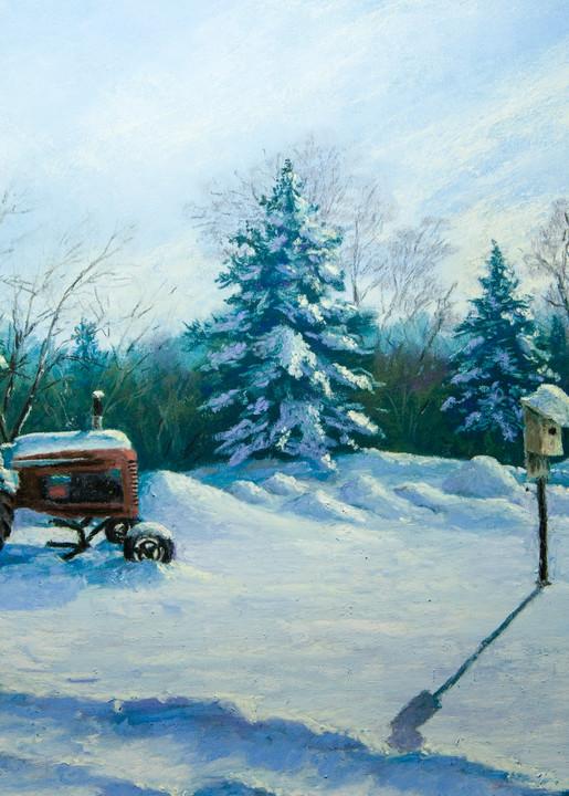 Waiting For Spring Art | Mark Grasso Fine Art