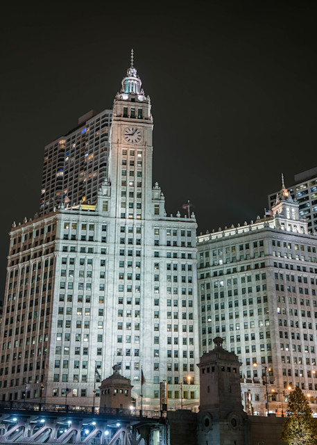 The Wrigley Building And Michigan Avenue Photography Art   William Drew Photography