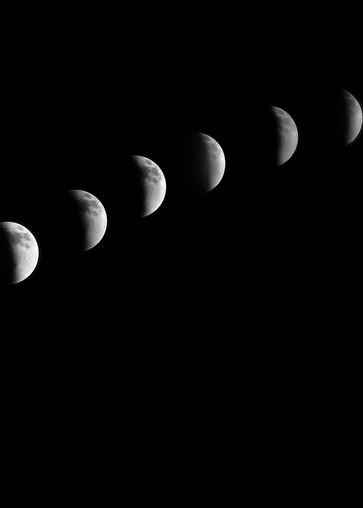 Monochrome Lunar Movement Photography Art | Austin Marvel