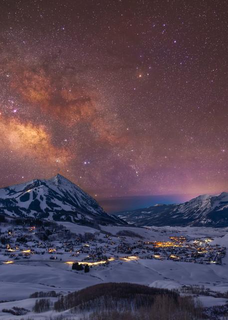 Crested Butte Milky Way Photography Art | Alex Nueschaefer Photography