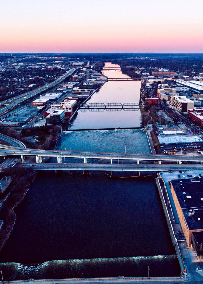 Grand River Grand Rapids Michigan