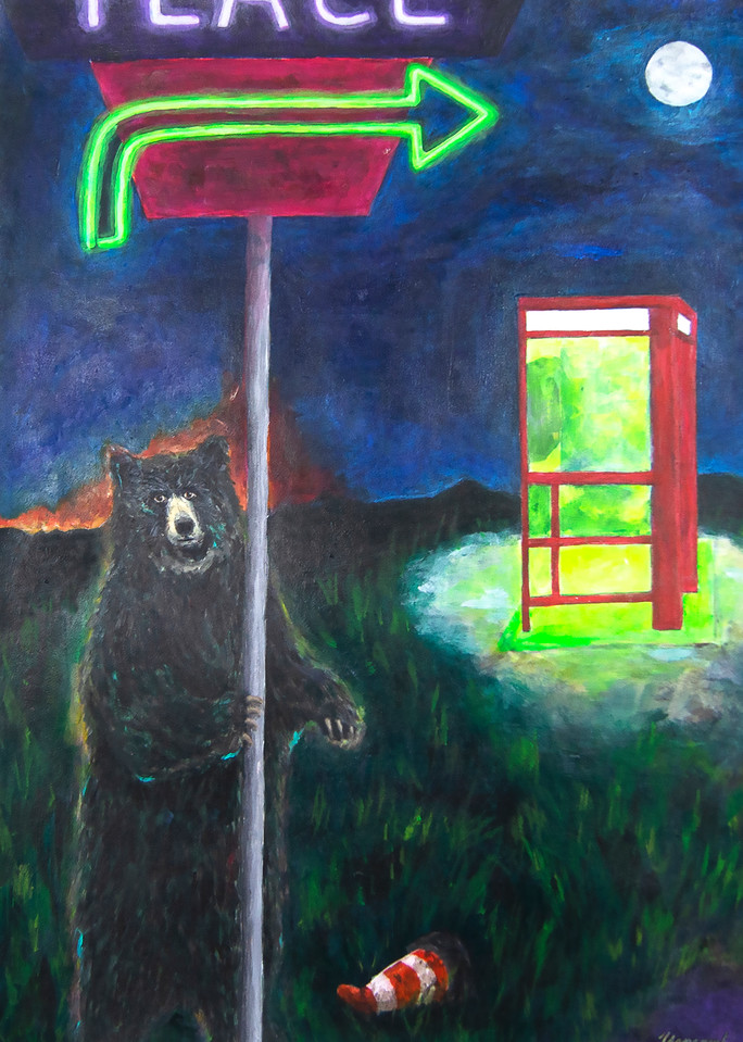 The Phone Call Art | Mystery Dinosaur Productions/Fae Yamaguchi Art