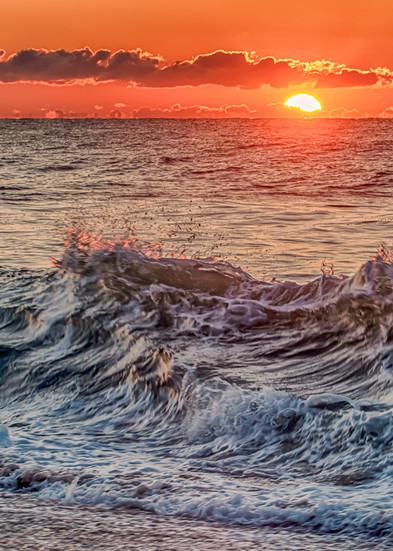 South Beach Sunrise Waves Art   Michael Blanchard Inspirational Photography - Crossroads Gallery