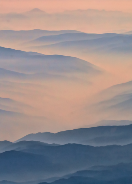Cloud Mountains Art | Light Pixie Studio