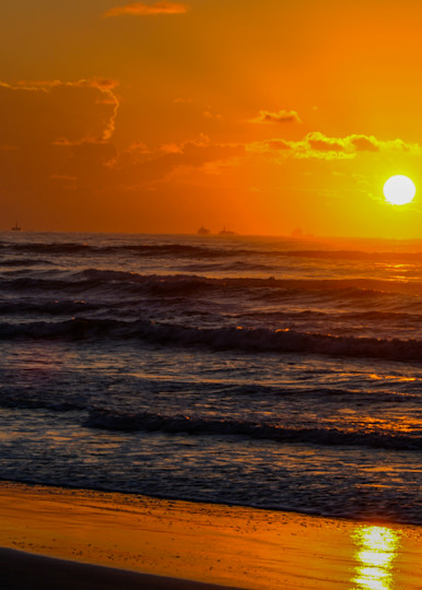 Sunset Waves Art   Thriving Creatively Productions