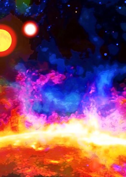 Sunfire. Art | Don White-Art Dreamer