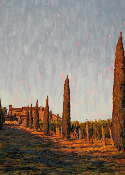 Road Home, Alloro Vineyard Art | Michael Orwick Arts LLC