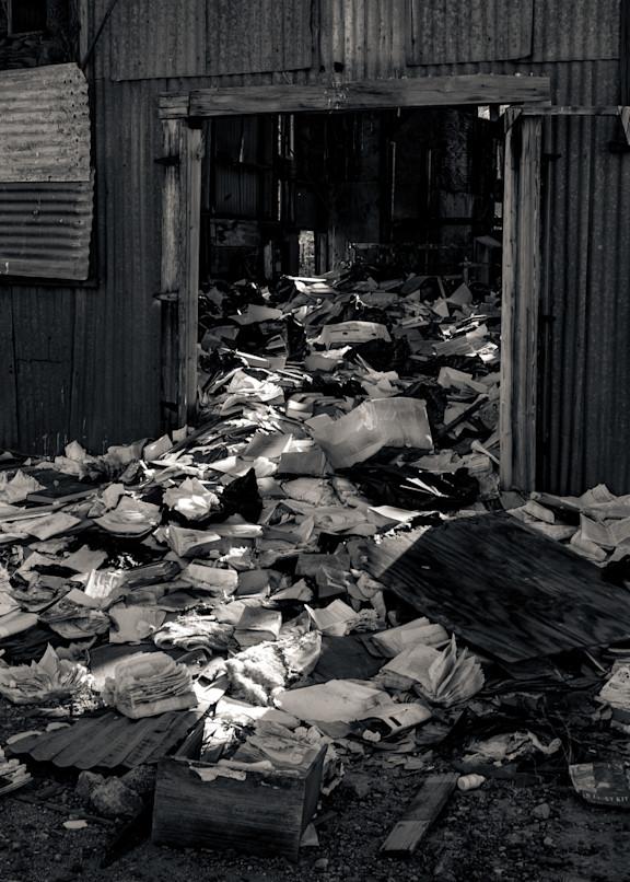 Abandoned Mine Warehouse Randsburg Photography Art | Dan Katz, Inc.