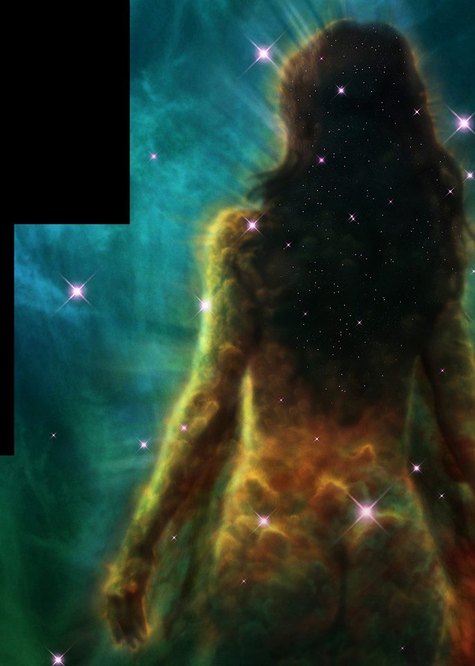 Lovely Stardust Woman