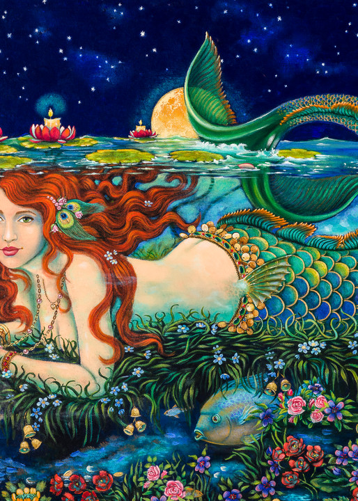 Mermaid Garden Art | miaprattfineart.com