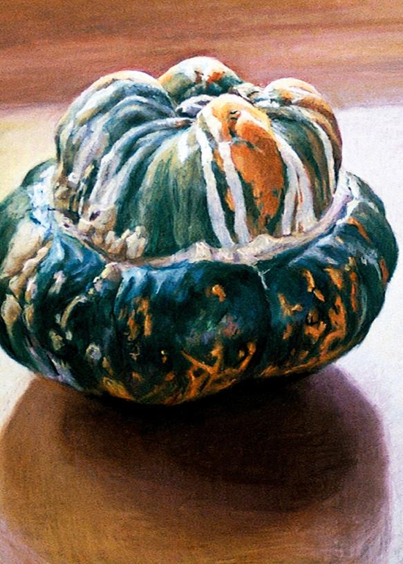 Turban Squash In North Light Art | Waif Mullins Art