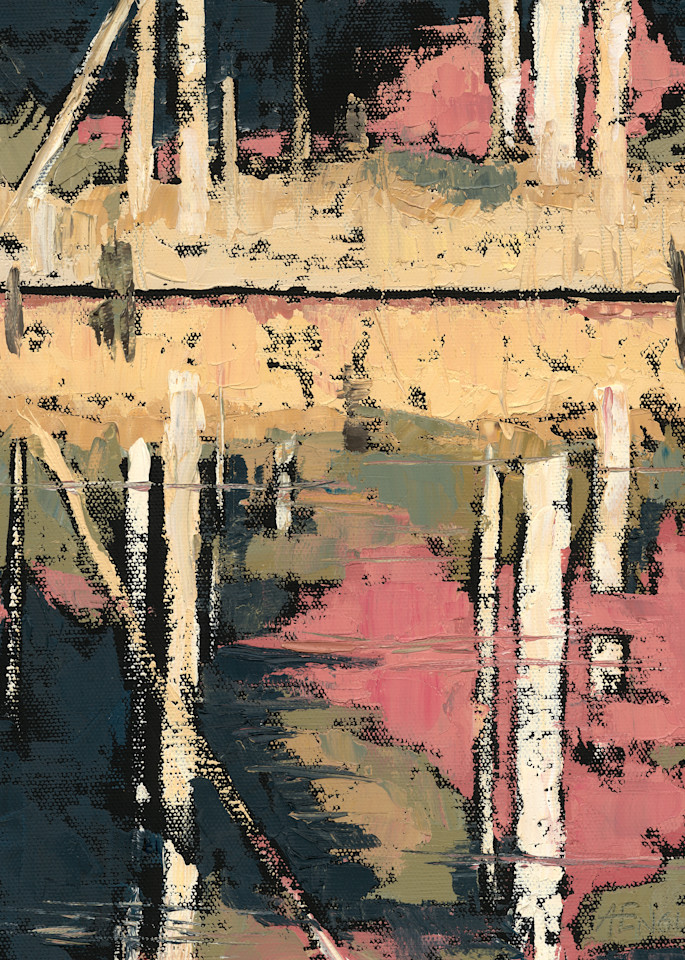 Ellis Pond Ii Art   Friday Harbor Atelier