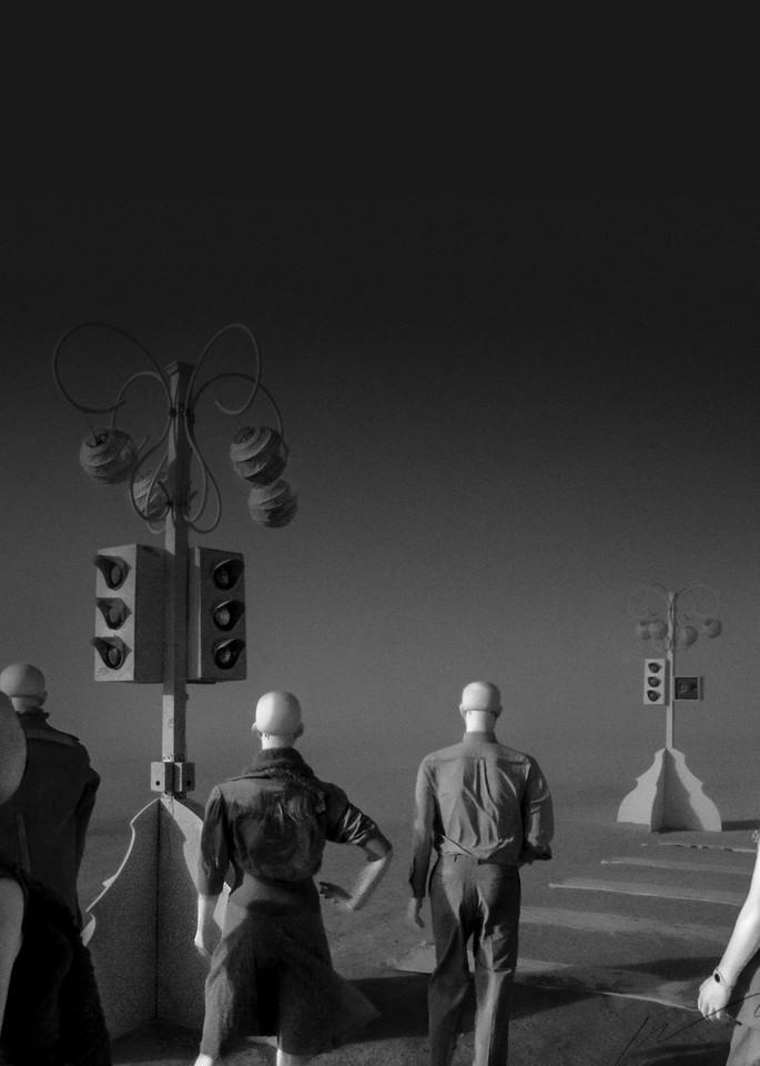 Stoplight Photography Art | Harry John Kerker Photo Artist